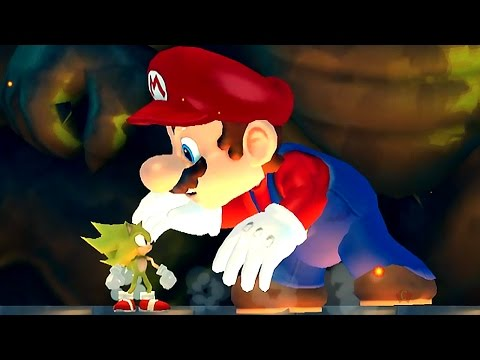 Thumbnail: New Super Sonic Wii All Castles (Sonic VS Koopalings and Evil Mario)