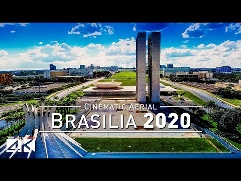 【4K】Drone Footage | Brasilia - Capital of Brazil 2019 .:: Cinematic Aerial Film | Catedral Garrincha