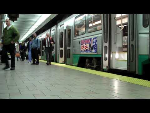 Boston MBTA Red Line Orange Line Green Line