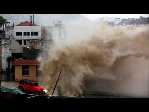 Super Typhoon Nepartak hit Taiwan, 15,224 people evacuated | Oneindia News