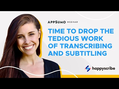 Happy Scribe Takes Your Audio & Video Content To The Next Level W/ Automated Transcripts & Subtitles
