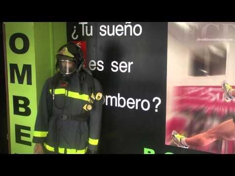 Estas son las polémicas pruebas que deben superar los bomberos de Madrid