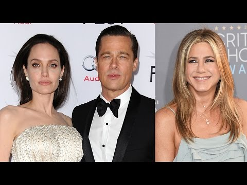 Jennifer Aniston Responds To Brangelina Divorce News? - The Internet's BEST Reactions