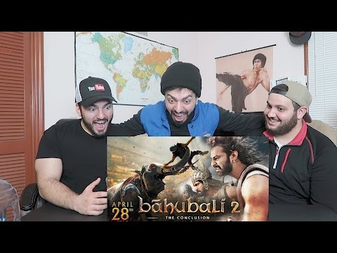 Thumbnail: ARAB GUY REACTING TO BAHUBALI 2 - THE CONCLUSION TRAILER!!
