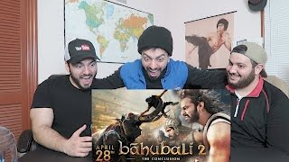 ARAB GUY REACTING TO BAHUBALI 2 - THE CONCLUSION TRAILER!!
