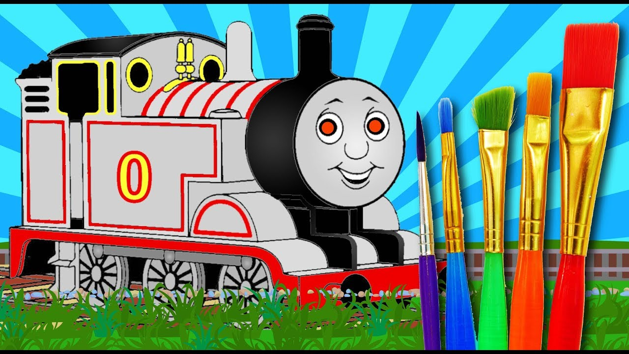 Coloring Timothy Train For Kids Drawing Thomas And Friends