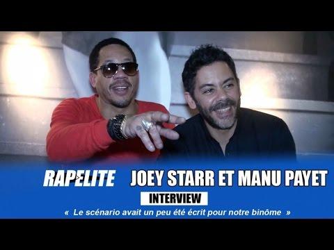 Joey Starr et Manu Payet : «Le scénario avait un peu été écrit pour notre binôme»