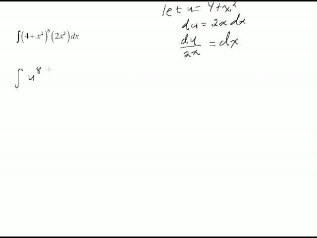 Sledge Integration Usub Worksheet – U Substitution Worksheet