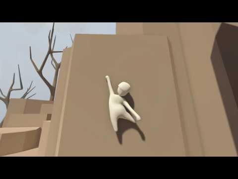 Human: Fall Flat - How to climb a walls