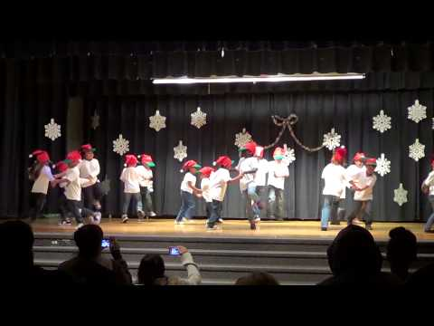 Wegeforth Elementary - Winter Wonderland Dance Performance 2012