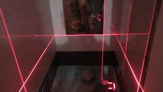 Скоростная укладка плитки в туалете!(, 2016-04-09T14:04:54.000Z)