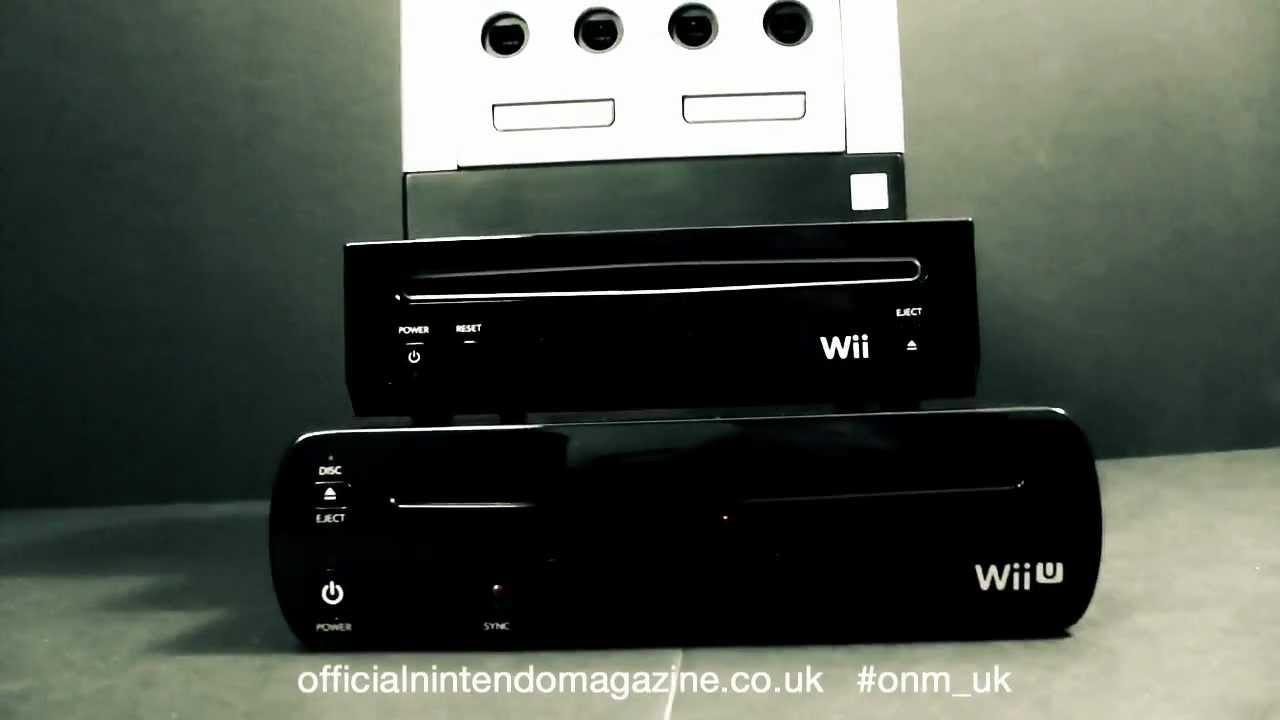 World's First Wii U Size Comparison Video - YouTube