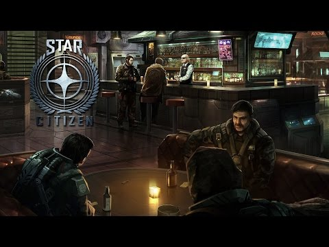 Star Citizen - Let's Talk Immersion At The Pub - Walking Around Star Citizens First City