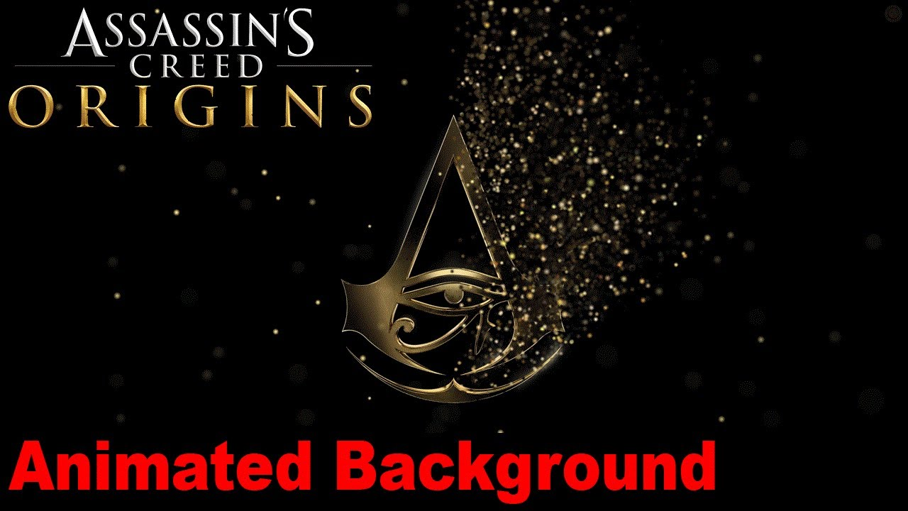 Assassin S Creed Origins Animated Wallpaper 05 Youtube