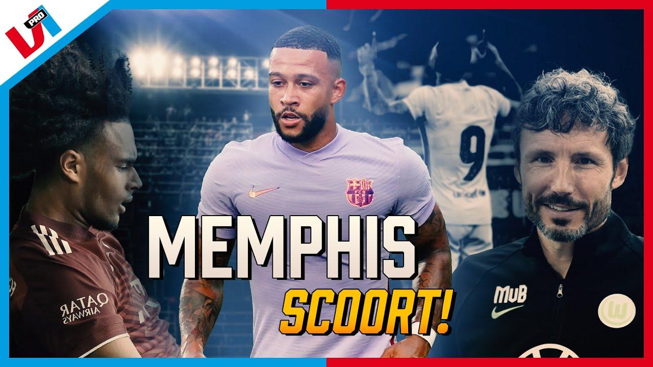 Spaanse Media LYRISCH Over Memphis: 'Maar Ik Kan Hem Pas Beoordelen Als Hij Met Messi Speelt'