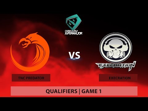 TNC Predator vs Execration | BO1 | Game 2 | China Dota2 Supermajor - Southeast Asian Qualifier