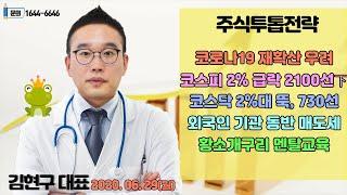 [김현구의 주식 투톱전략] 2020.06.29 코로나1…