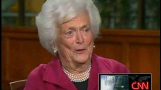 Larry King Live ~ Barbara Bush On Her Fetus In A Jar ~ aired 11-22-10