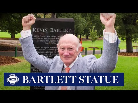 The making of the Kevin Bartlett statue