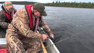 Wilderness Fishing for Walleye with the Argo UTV & Platte Bay Salmon