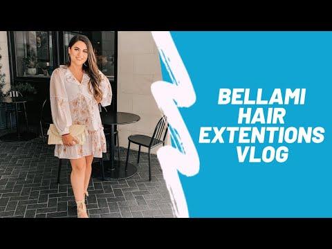 Bellami Hair Extensions Transformation | LIFESTYLEANDJESS thumbnail