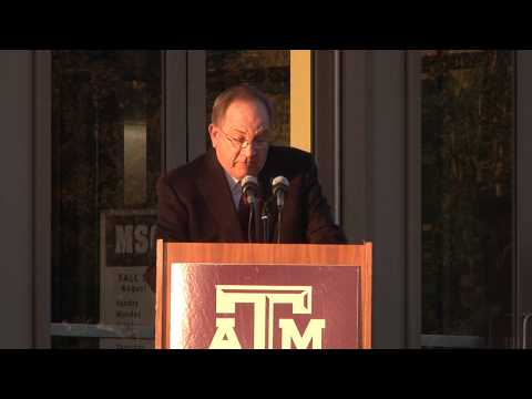 Aggies Honor 12th Man & Welcome Home Johnny Football