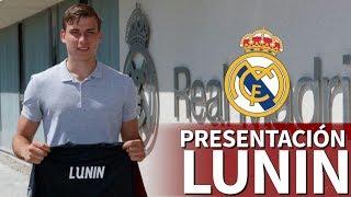 La presentación de Andriy Lunin con el Real Madrid | Diario AS