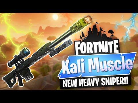 *NEW HEAVY SNIPER* | Fortnite Battle Royale // TOP BODYBUILDER  PLAYER