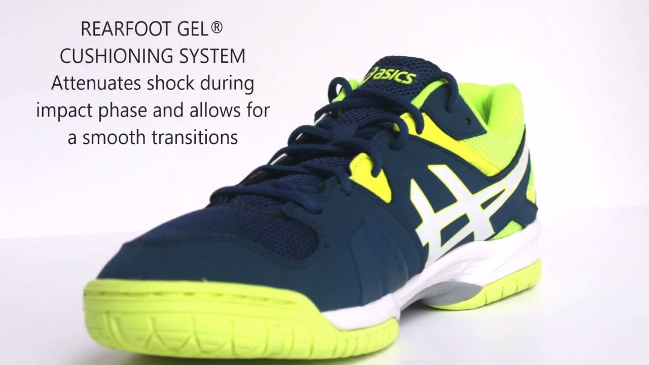 asics indoor tennis shoes