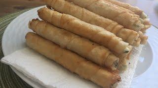 Sigara böreği. Сигара бёрек- турецкие трубочки с начинкой!