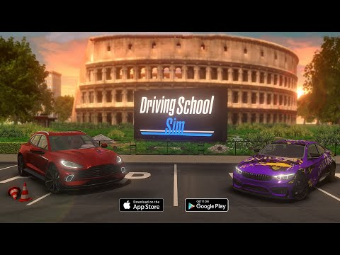 Driving School Sim - Trailer #2 - iOS & Android