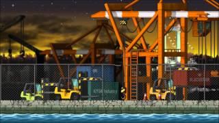 [MapleStory BGM] Neo City: Midnight Harbor | Odaiba