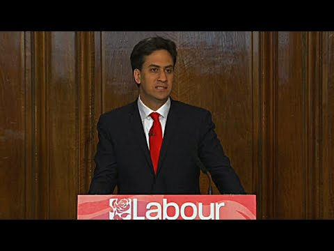 Ed Miliband resigns as leader of the Labour Party