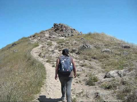 Hiking Up At Mission Peak Regional Preserve, East of Fremont, CA (June 16, 2011)