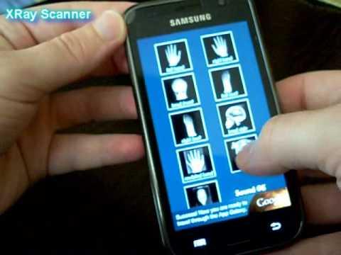 Amazing XRay Prank Scanner