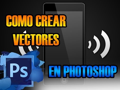 Como hacer vectores en Photoshop