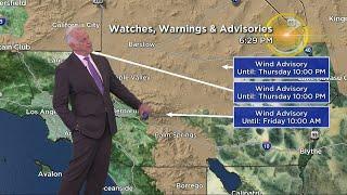 CBSLA Evening Weather Brief (Feb. 21)