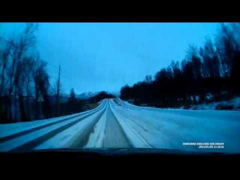 2015-01-03 Polar Night Halfmarathon - The Course