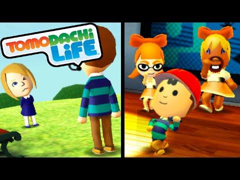 Tomodachi Life 3DS Mii-Lookalike Love, Finn's Ocean Song, Ness PK Rockin' Roll Walkthrough PART 54