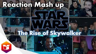 STAR WARS 9 Official Trailer (2019) The Rise Of Skywalker - Reaction Mashup