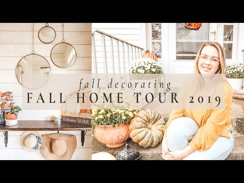 fall-home-tour-|-fall-decorating-2019-|-tour-my-home-for-autumn
