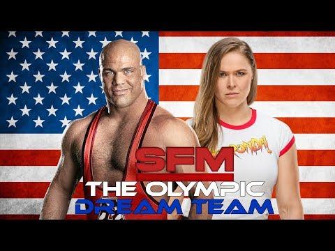 "WWE Mashup: Kurt Angle and Ronda Rousey - ""Medal Reputation"""