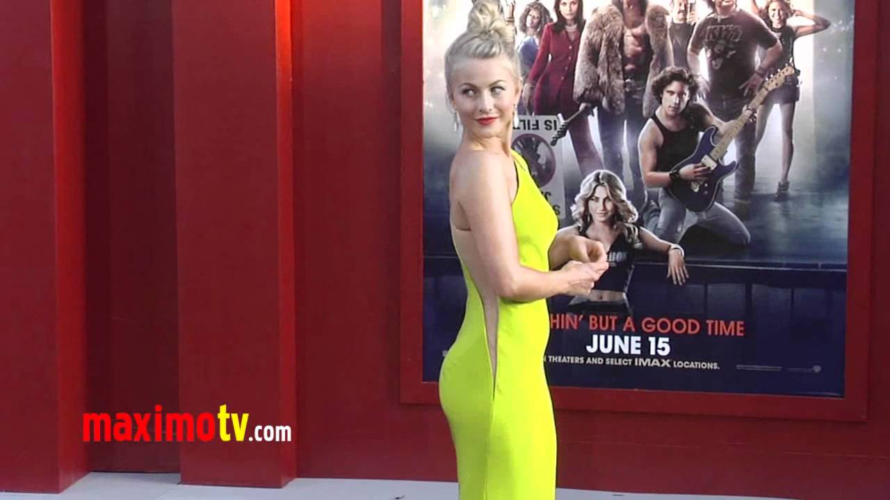 Julianne Hough Sexy And She Knows It At Rock Of Ages World Premiere Arrivals Youtube