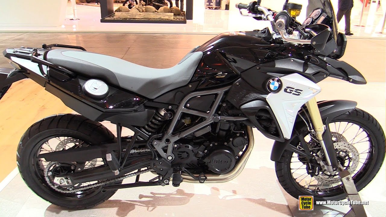 2016 BMW F800GS - Walkaround - 2015 EICMA Milan - YouTube