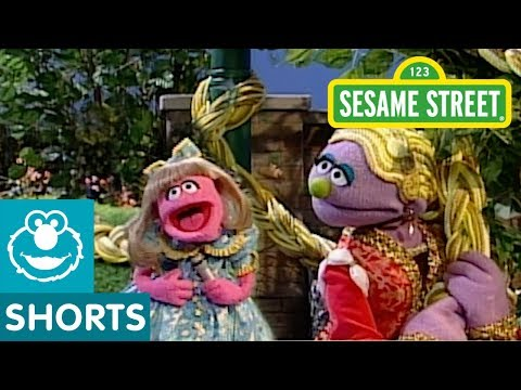 Sesame Street: Rapunzel's Bad Hair Day | Fairy Tales Today