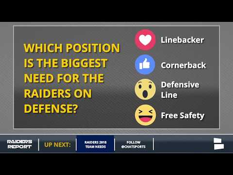 Oakland Raiders Rumors on Marshawn Lynch, Michael Crabtree and more Plus 2018 Offseason Needs