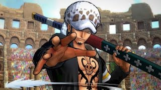 One Piece: Burning Blood - FULL MATCH Law, Shanks, and Kuma Gameplay