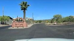 Driving into Queen Valley, AZ