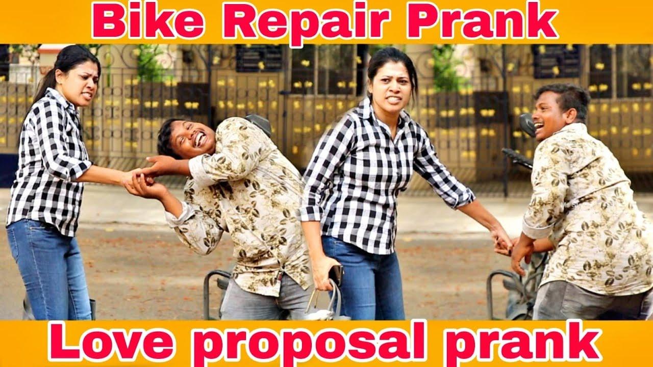 Love Proposal Prank | bike prank |  Love prank | Ms Starlight 1456