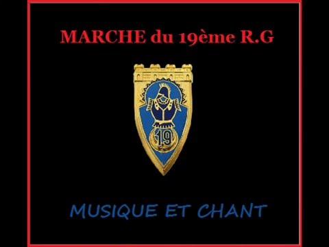 MARCHE DU 19 EME R G